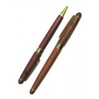 Juego Bolígrafo y Pluma de Madera