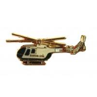 Pin Guardia Civil helicóptero Antiguo