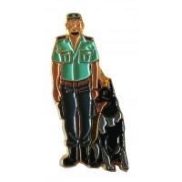 Pin Guardia Civil Guardia Perro
