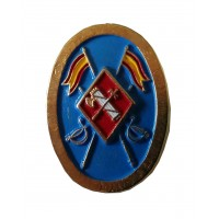 Pin Guardia Civil Ovalo Azul