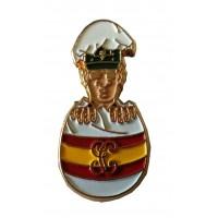Pin Guardia Civil huevo