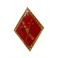 Pin Guardia Civil Rombo Rojo
