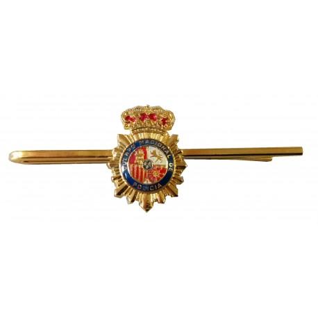 Pisacorbata Policía Escudo Color