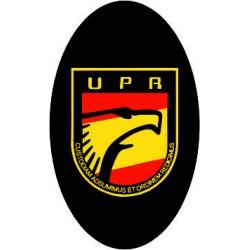 Pegatina UPR Ovalada