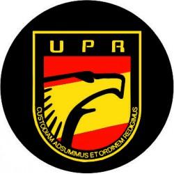 Pegatina UPR Redonda