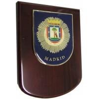 Metopa Policía Municipal Tamaño 17x13 cms