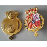 Chapa Gorra Casa Real con tuerca