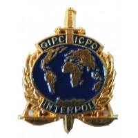 Pin Policía INTERPOL