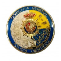 Pin Policía Científica
