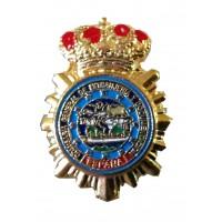Pin Extranjería Policía