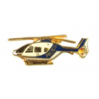 Pin Helicoptero Policía