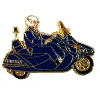 Pin Scooter Policía