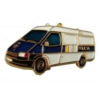 Pin Furgoneta Policía
