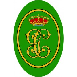Pegatina Guardia Civil...