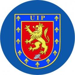 Pegatina Policia UIP Redondo