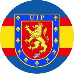 Pegatina Policia UIP...
