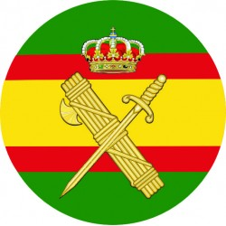Pegatina Guardia Civil España
