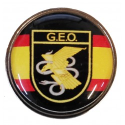 Pin GEO España en resina