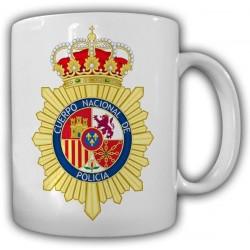 Taza Policia Nacional