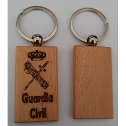 Llavero Madera Guardia Civil