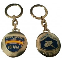 Llavero Intervención Policial