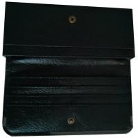Cartera Negra 18,5 x 8,5 Impreso a color