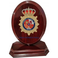 Metopa Giro Ovalo escudo Impreso a color