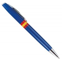 Boligrafo España Verde o Azul sin Grabar