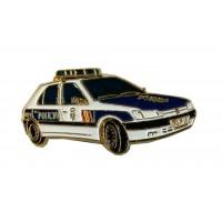 Pin Coche Peugeot Policía