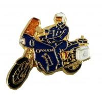Pin Moto Policía