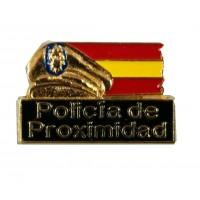 Pin Policía Proximidad