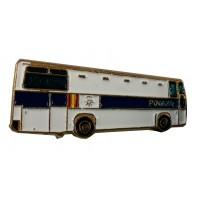 Pin Autobus Policía